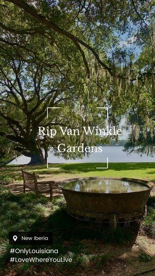 Rip Van Winkle Gardens #OnlyLouisiana #LoveWhereYouLive