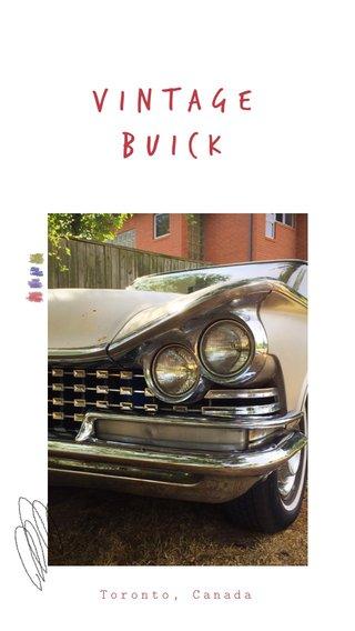 Vintage buick Toronto, Canada