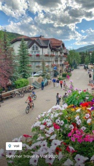 Summer Travel in Vail 2020