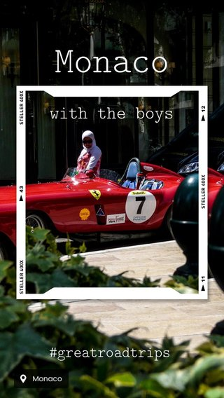 Monaco with the boys #greatroadtrips