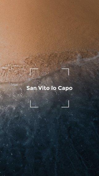San Vito lo Capo