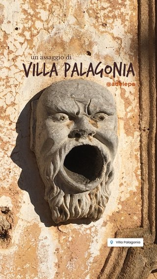Villa Palagonia @adelepa un assaggio di