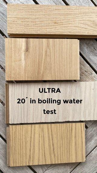ULTRA 20´ in boiling water test