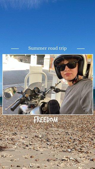 Freedom Summer road trip