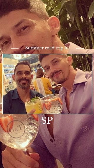 SP Summer road trip in