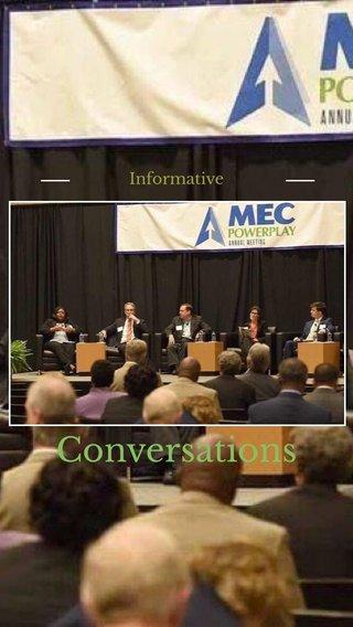 Conversations Informative
