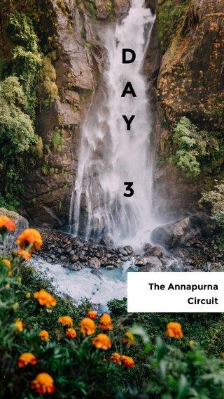 D A Y 3 The Annapurna Circuit