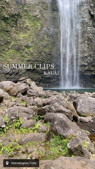 SUMMER CLIPS KAUAI