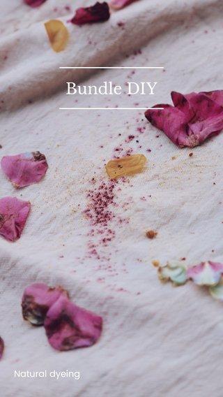 Bundle DIY Natural dyeing