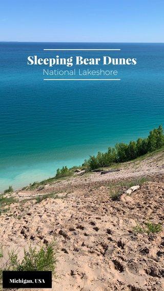 Sleeping Bear Dunes National Lakeshore Michigan, USA