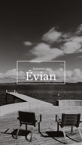 Évian Summer in