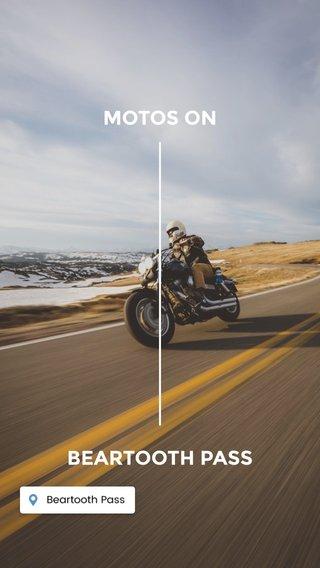 MOTOS ON BEARTOOTH PASS