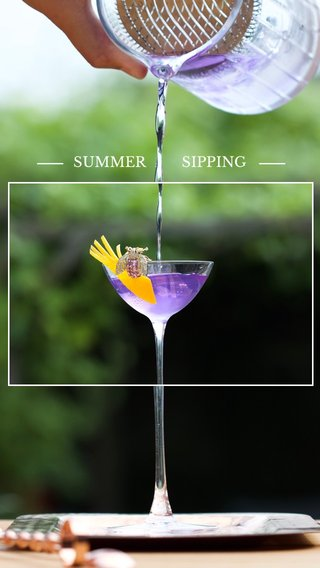 SUMMER SIPPING