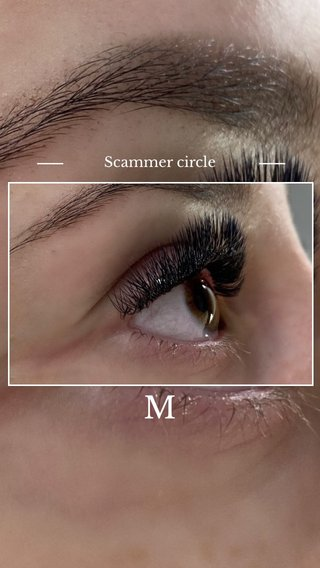 M Scammer circle