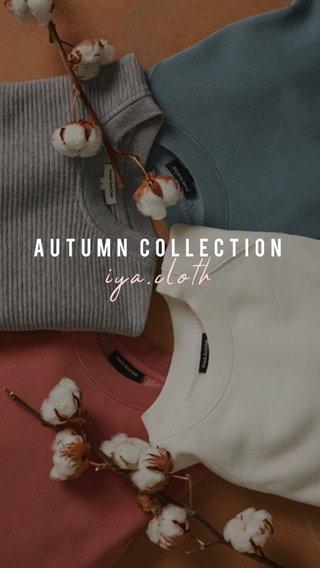iya.cloth Autumn Collection