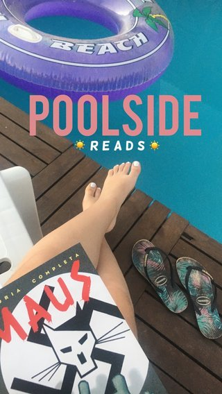 POOLSIDE         reads ☀️ ☀️ 💦