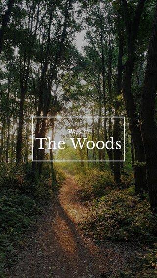 The Woods Walk in