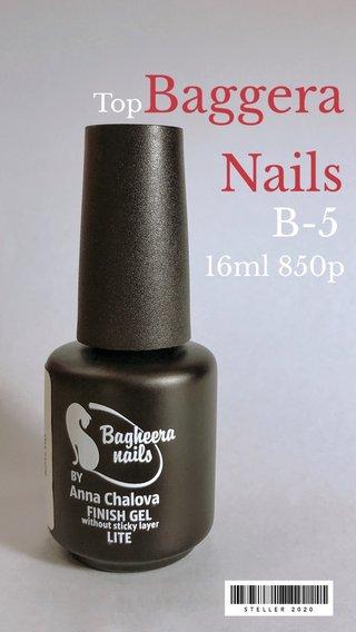 Baggera Nails B-5 16ml 850p Top