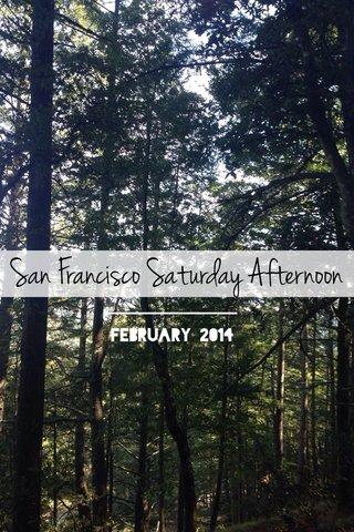San Francisco Saturday Afternoon February 2014