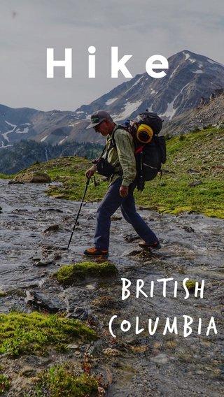 Hike British Columbia