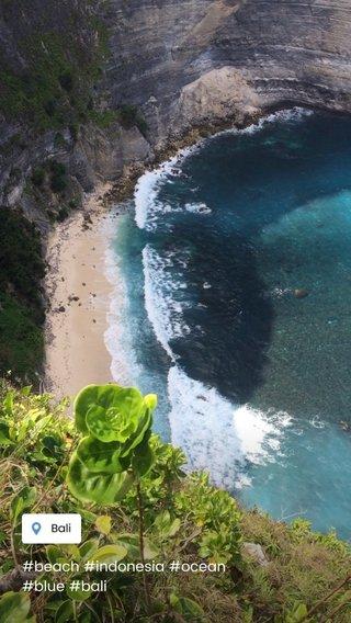 #beach #indonesia #ocean #blue #bali