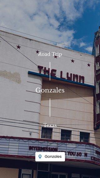 Gonzales Road Trip Texas
