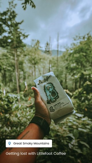 Getting lost with Littlefoot Coffee