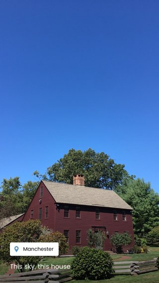 This sky, this house