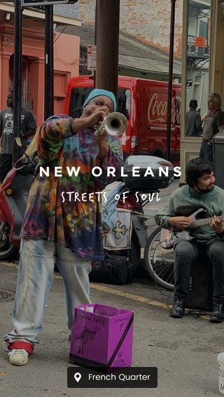 NEW ORLEANS Streets of soul