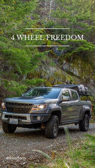4 WHEEL FREEDOM #freedom