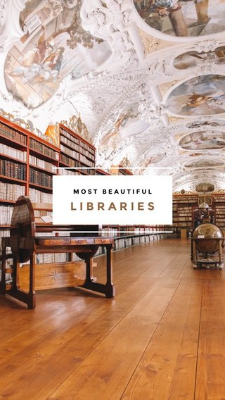 LIBRARIES MOST BEAUTIFUL