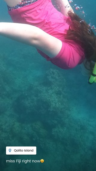 miss Fiji right now😫