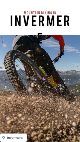 Invermere mountain Biking in