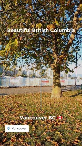 Beautiful British Columbia Vancouver BC 🇨🇦