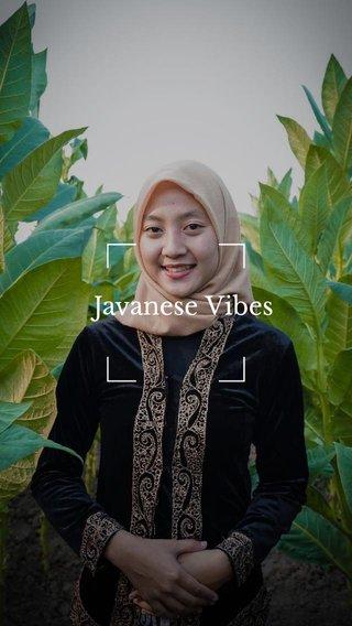 Javanese Vibes