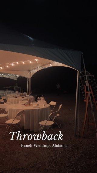 Throwback Ranch Wedding, Alabama