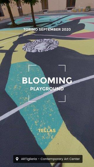 BLOOMING TELLAS PLAYGROUND TORINO SEPTEMBER 2020