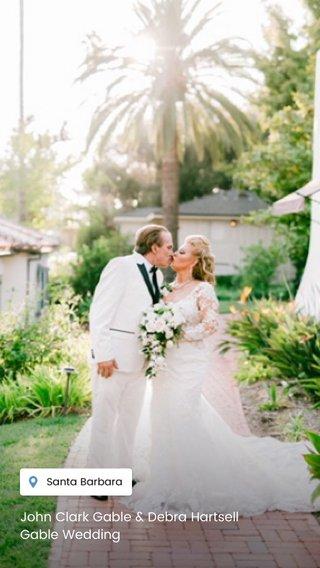 John Clark Gable & Debra Hartsell Gable Wedding