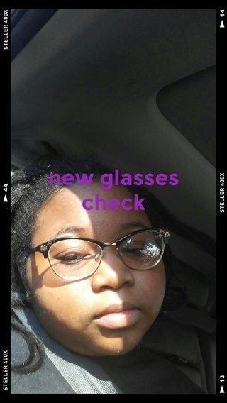 new glasses check