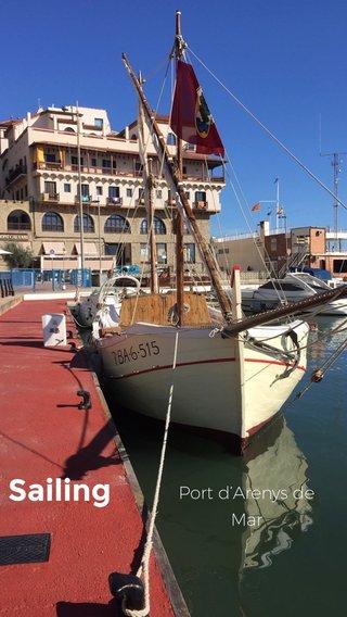 Sailing Port d'Arenys de Mar