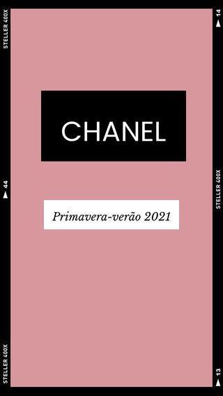 CHANEL CHANEL Primavera-verão 2021