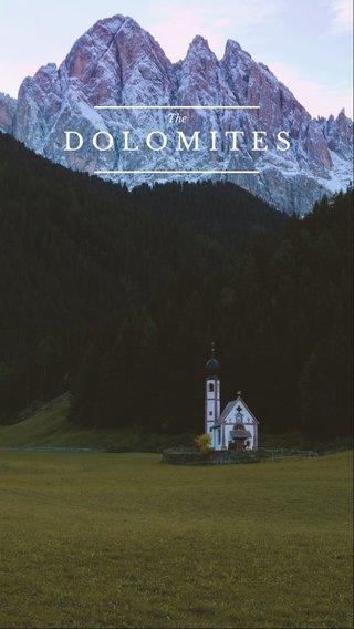 DOLOMITES The