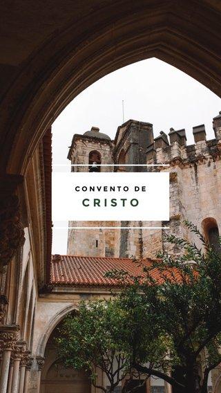 CRISTO CONVENTO DE