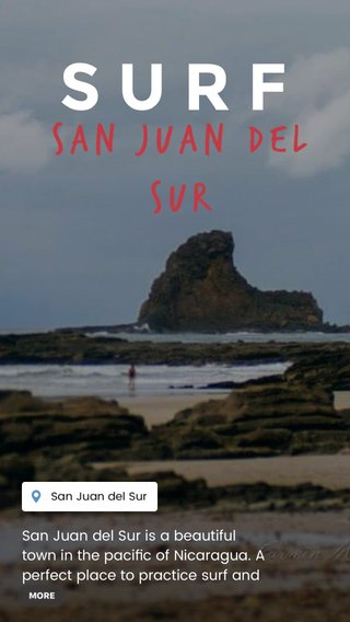 SURF San juan del sur San Juan del Sur is a beautiful town in the pacific of Nicaragua. A perfect place to practice surf and yoga.
