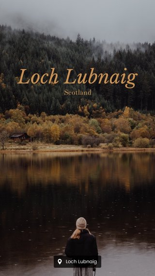 Loch Lubnaig Scotland
