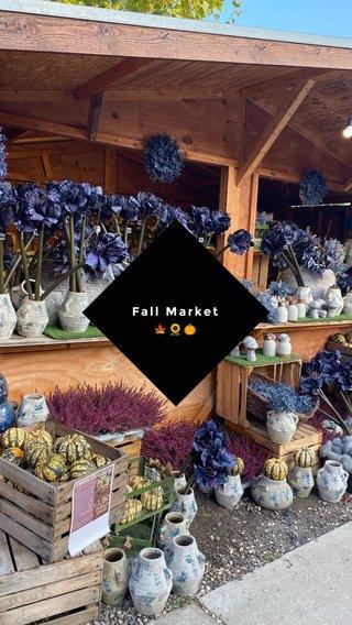 Fall Market 🍁🌻🎃
