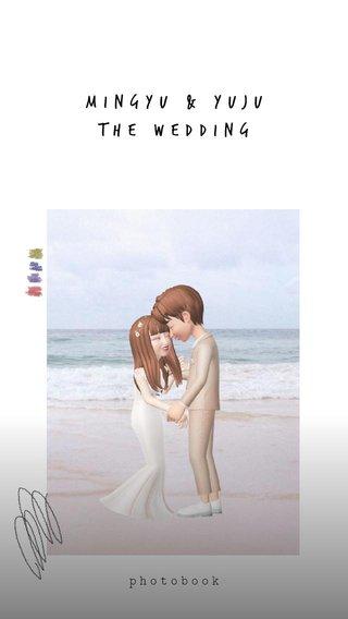 mingyu & Yuju the wedding photobook