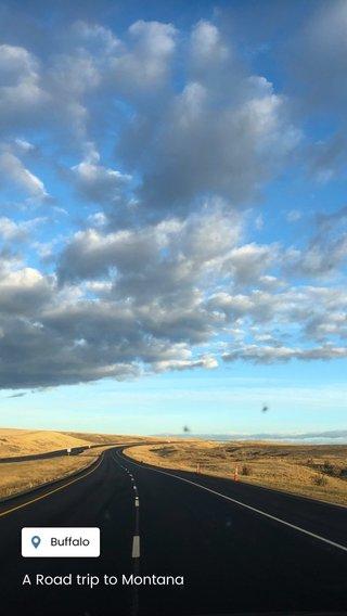 A Road trip to Montana