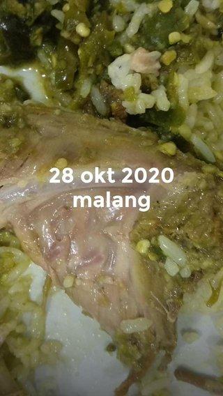 28 okt 2020 malang