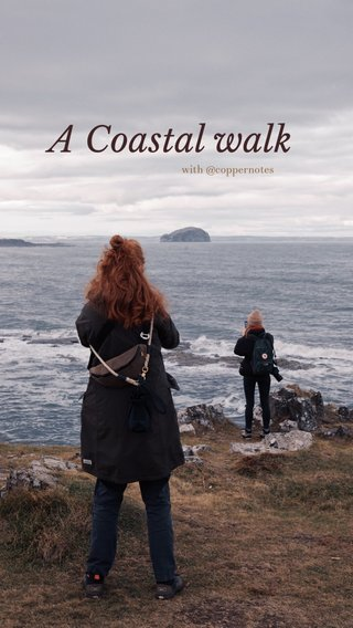 A Coastal walk with @coppernotes